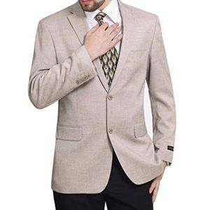 Other - Men's Classic Fit Two-Button Stretch Blazer Suit